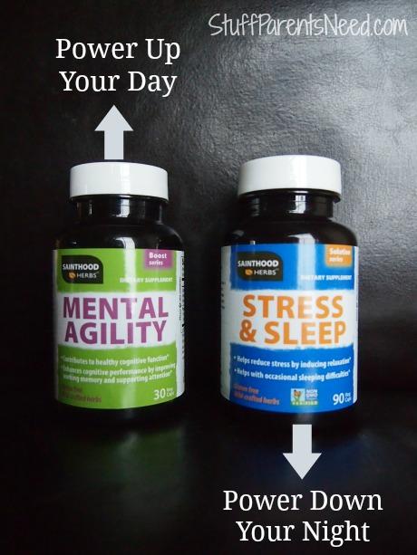 sainthood herbs mental agility stress & sleep