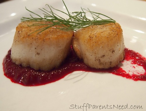 scallops at The Chattanoogan
