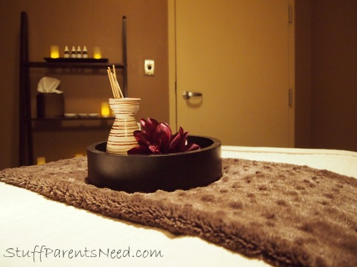 massage room at The Chattanoogan