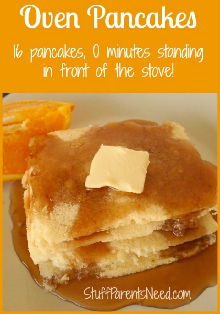 A Favorite Kitchen Shortcut: Oven Pancakes