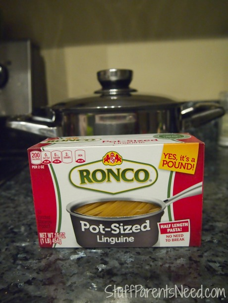 ronco pot-sized pasta