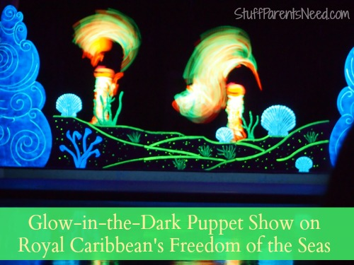 puppet show freedom of the seas
