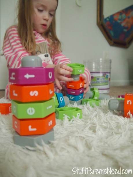 early reader games: word construction 1