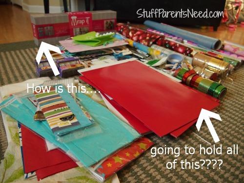 wrap it gift wrap organizer
