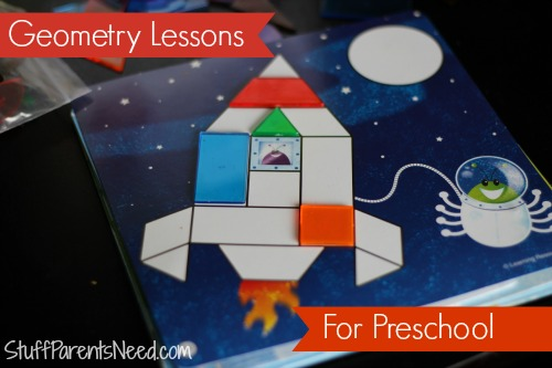 geometry lessons for preschool