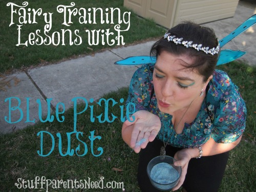 blue pixie dust fairy training lessons the pirate fairy