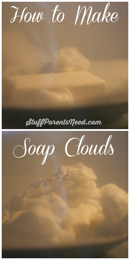 soap clouds how to make