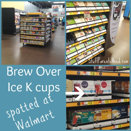 brew over ice k cups at walmart