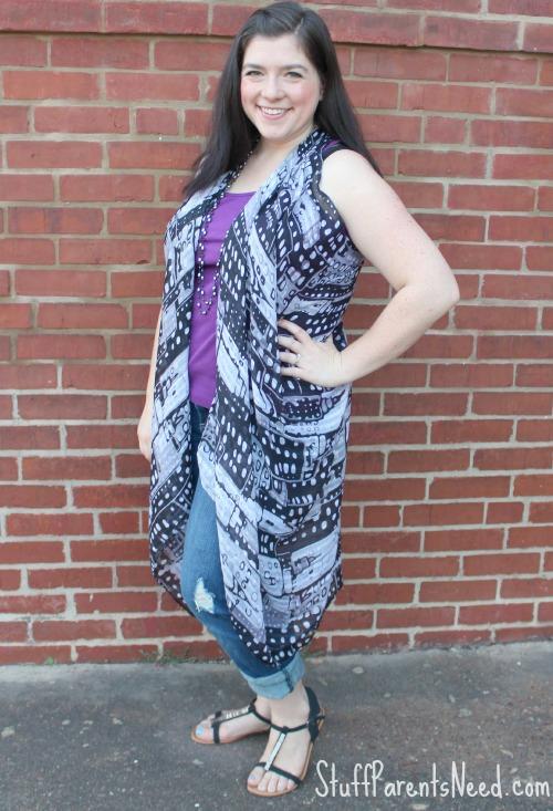 scarf tutorial vest