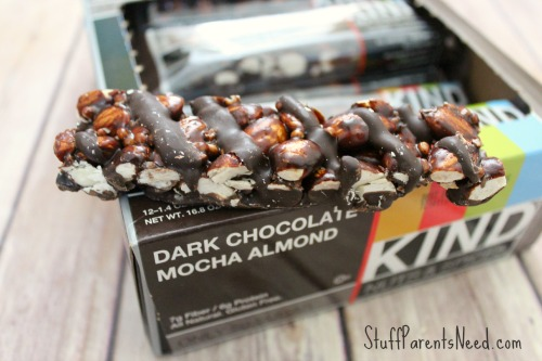 KIND dark chocolate mocha almond bars