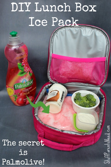 palmolive diy lunch box ice pack complete