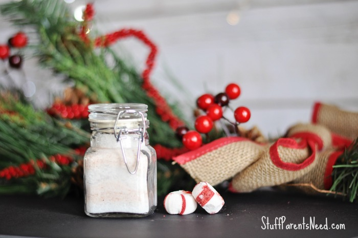 easy homemade peppermint bath salts
