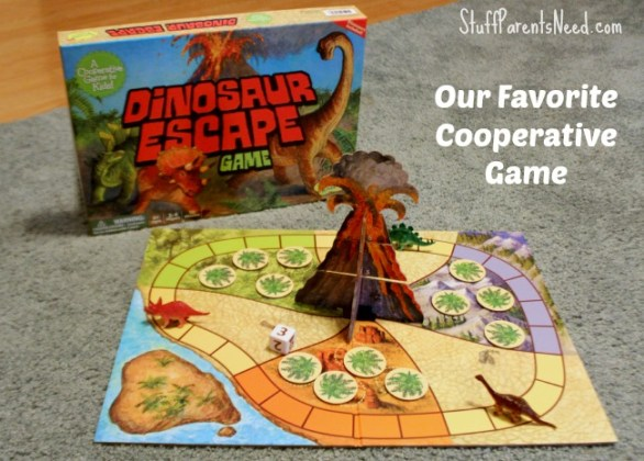 Teaching Children Coopertive Skills Through Games  Dinosaur Escape I ve found quite a few very dull    cooperative    games out there   Dinosaur  Escape has been the game I ve been looking for  friends