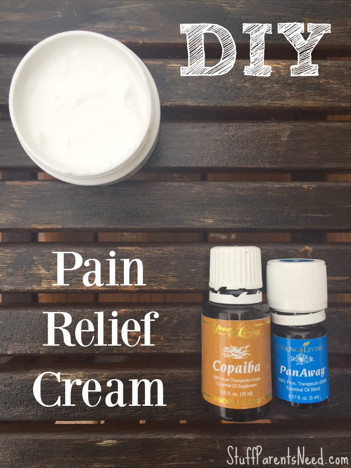 DIY pain cream