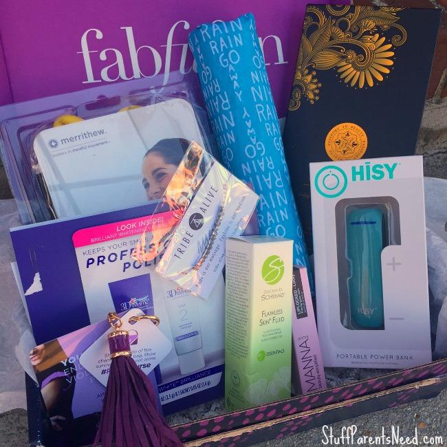 FabFitFun box 1
