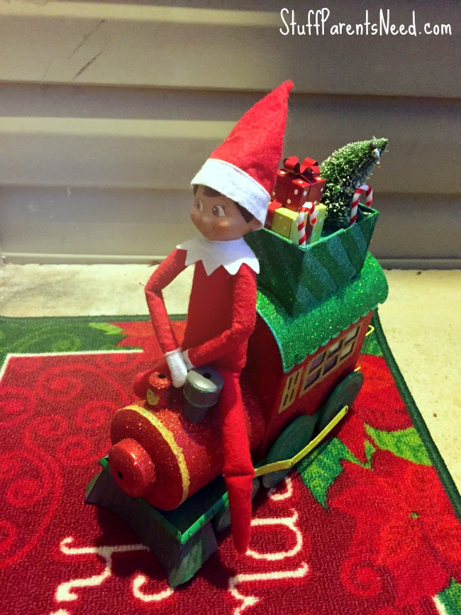 elf on the shelf arrival