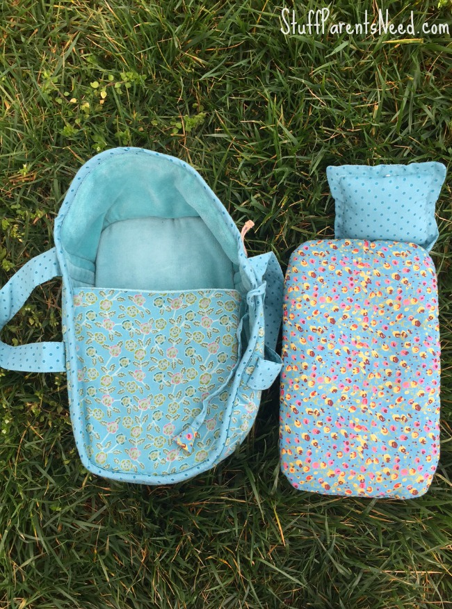 baby doll basket carrier