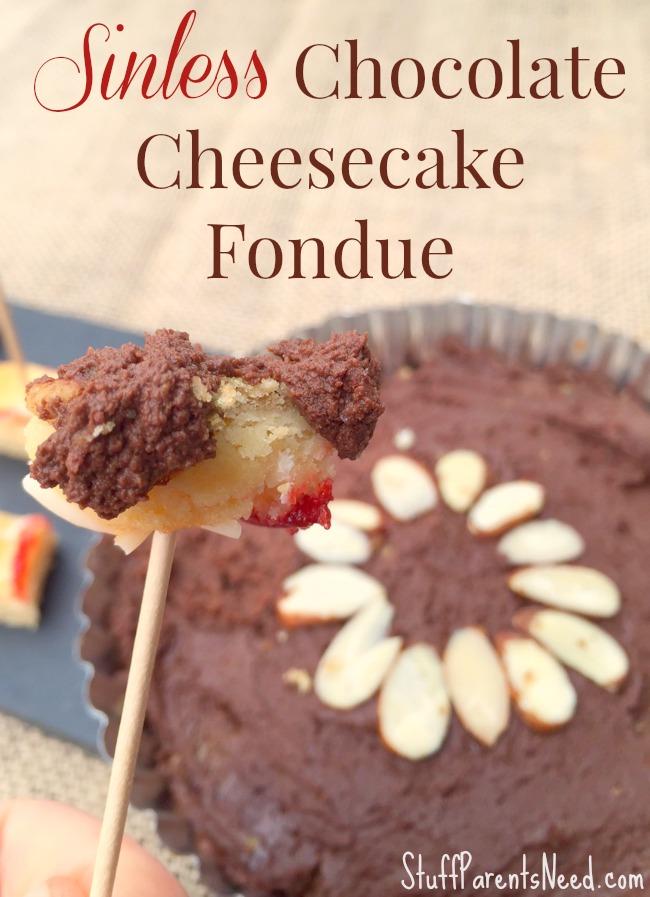 fiber one cheesecake fondue 4