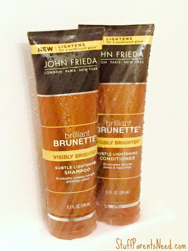john frieda visibly brighter shampoo and conditioner