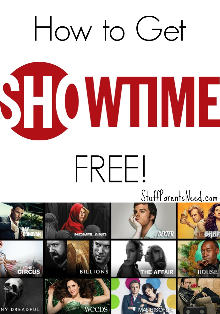 how to watch showtime online free