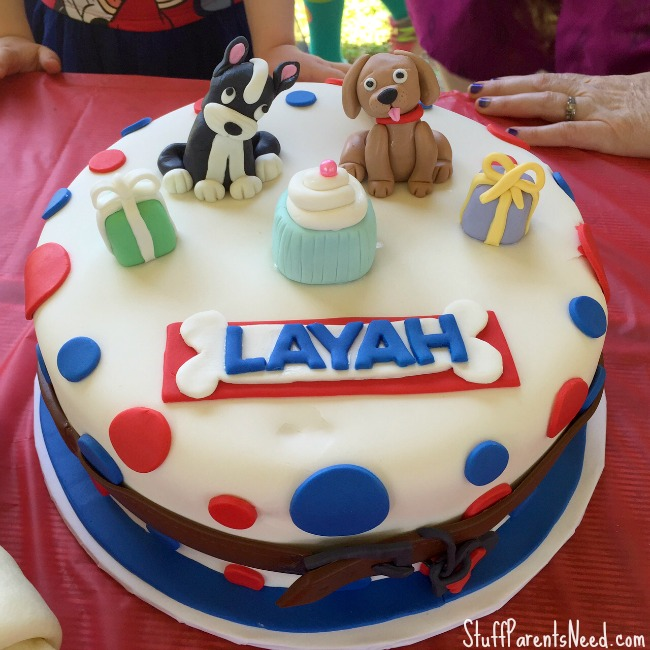 dog themed birthday cakes