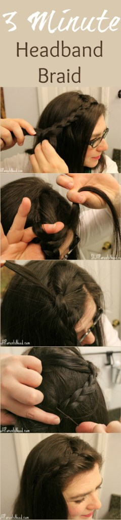 easy hairstyle headband braid