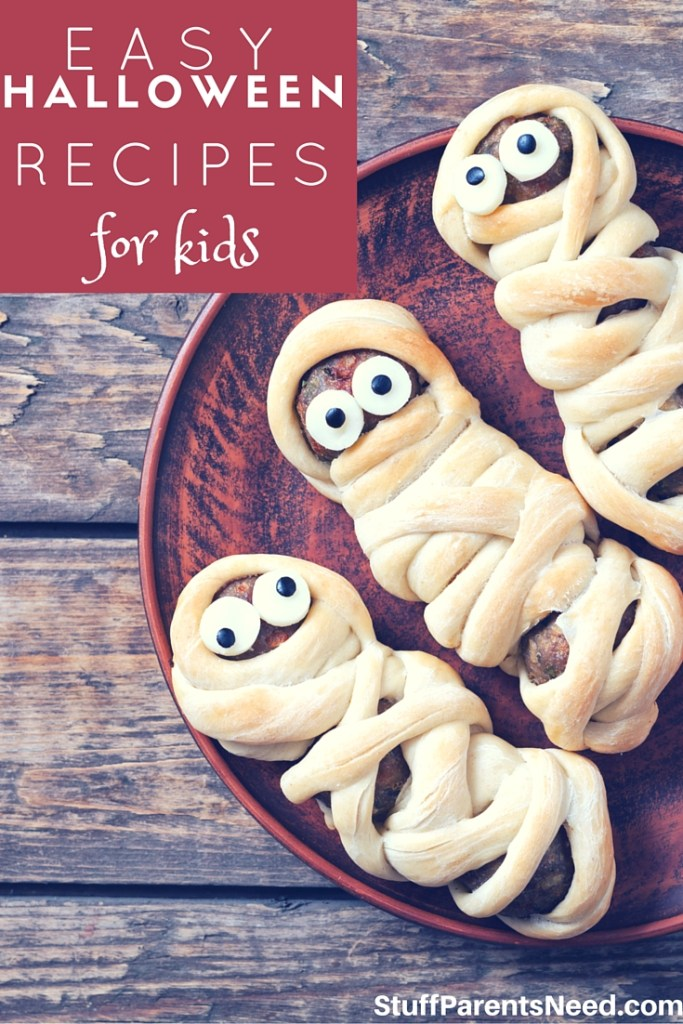 28 easy and fun halloween recipes for kids