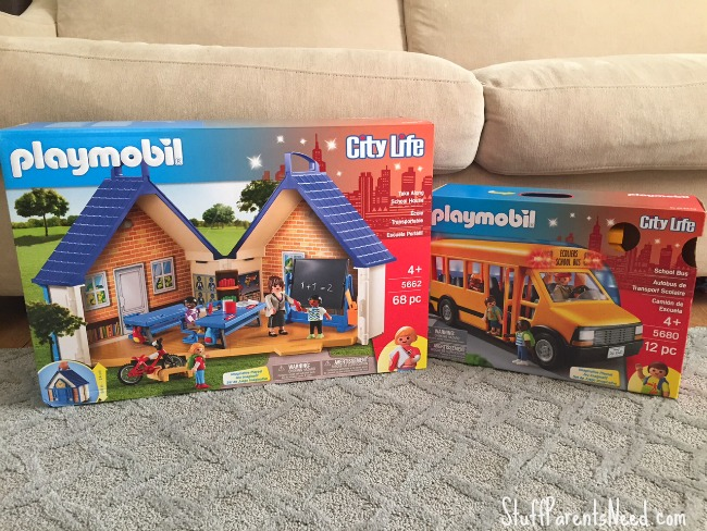 playmobil school and school bus 1