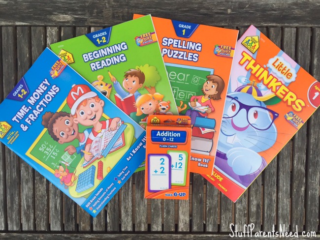 workbooks for the school year