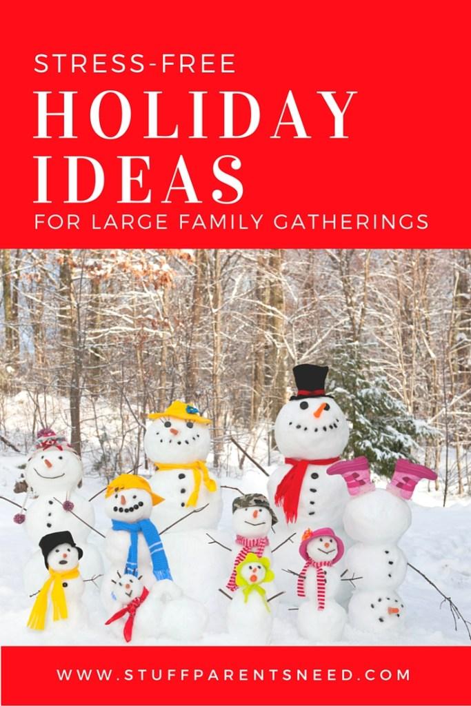 stress-free holiday ideas