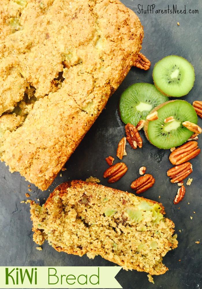 kiwi bread St. Patrick's Day breakfast