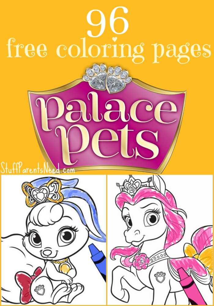 - 96 Free Palace Pets Coloring Pages