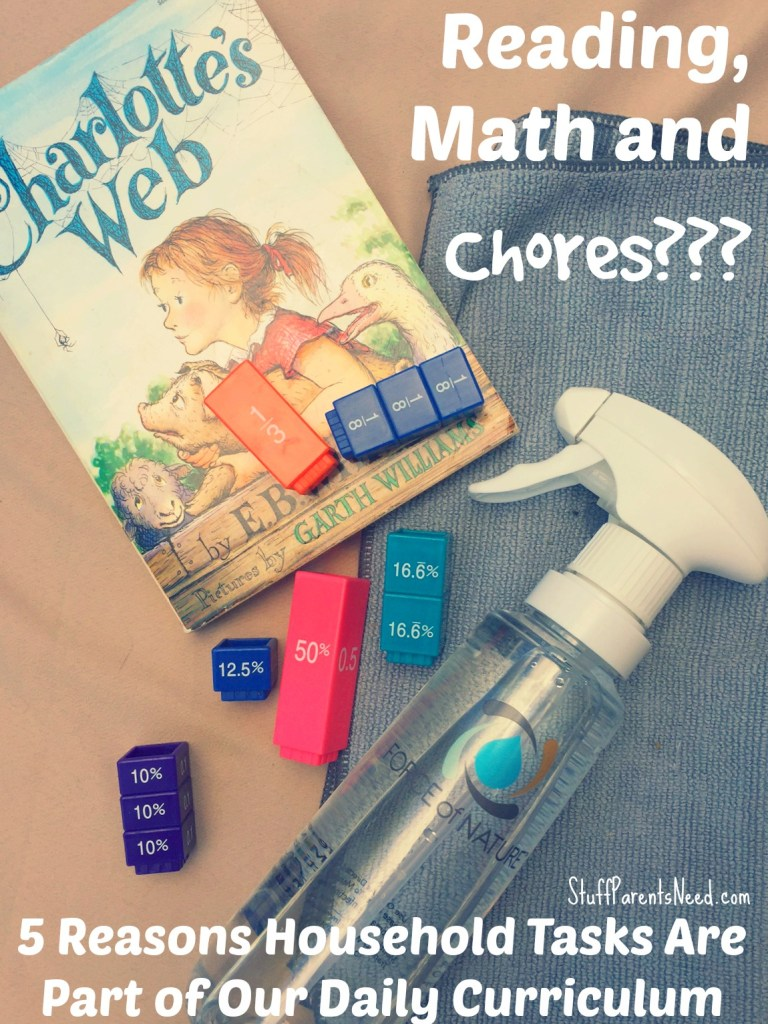 chores as part of the school day