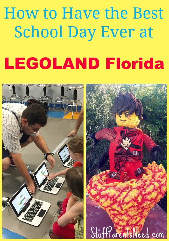 homeschool at LEGOLAND Florida
