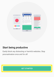 block site on android using app