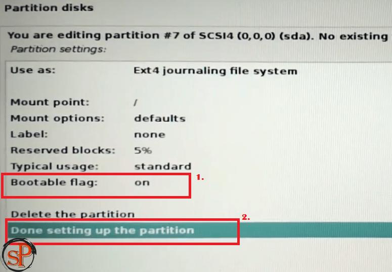 do settings as shown