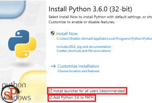 install python ide