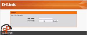 login to router dlink