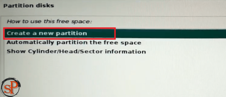 new partition
