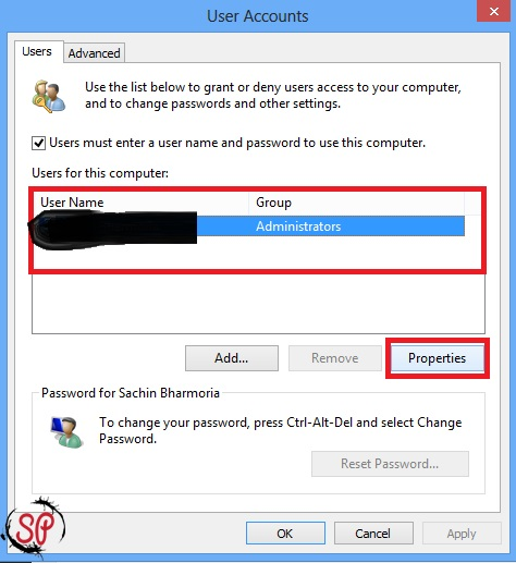 change normal account to administrative account windows