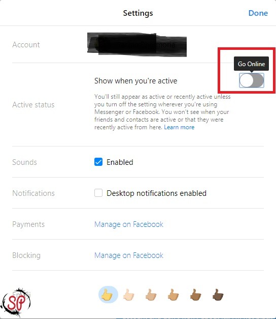 get invisible on facebook messenger