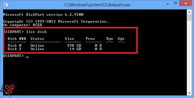 make bootable usb using cmd