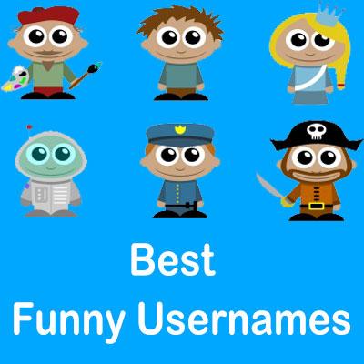 best funny usernames