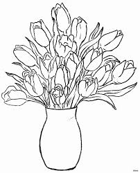 easy flower pots to draw