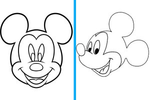 mickey mouse easy things to draw