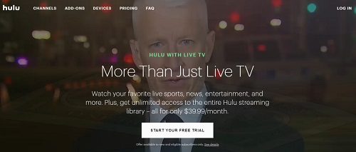 hulu live ufc stream