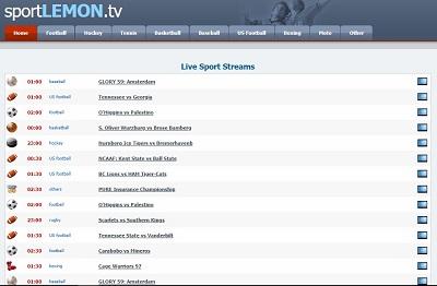 sports lemon tv ufc