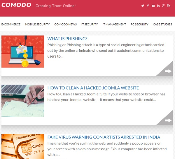 comodo cyber security blog