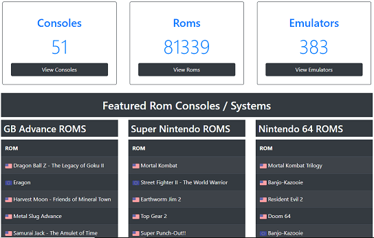25+ Best ROM Sites In 2019 [Safe & Working] Emuparadise Gone