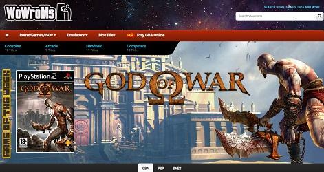 wowroms website